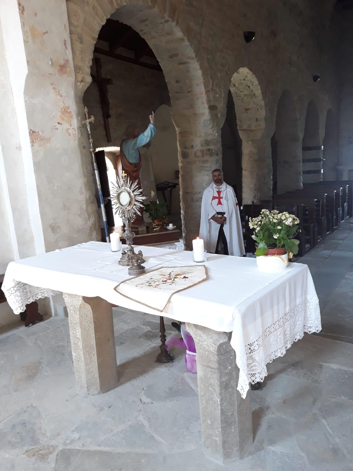 Adorazione Eucaristica alla Pieve di Tizzano, Pieve di Badia Cavana e Santa Messa a Tizzano