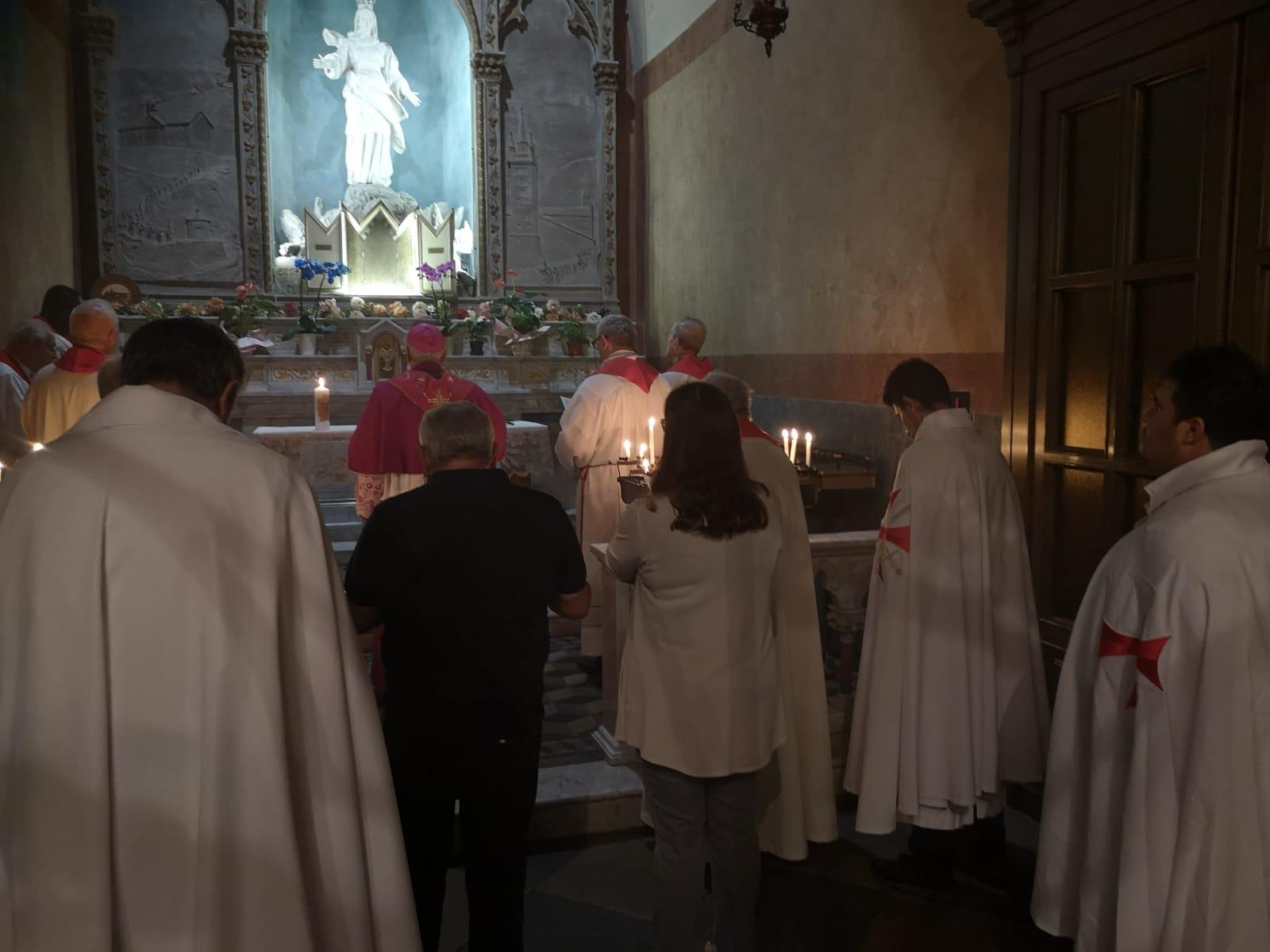 Veglia di Pentecoste alla Cattedrale di San Giusto con S.E. Confalonieri Vescovo di Susa