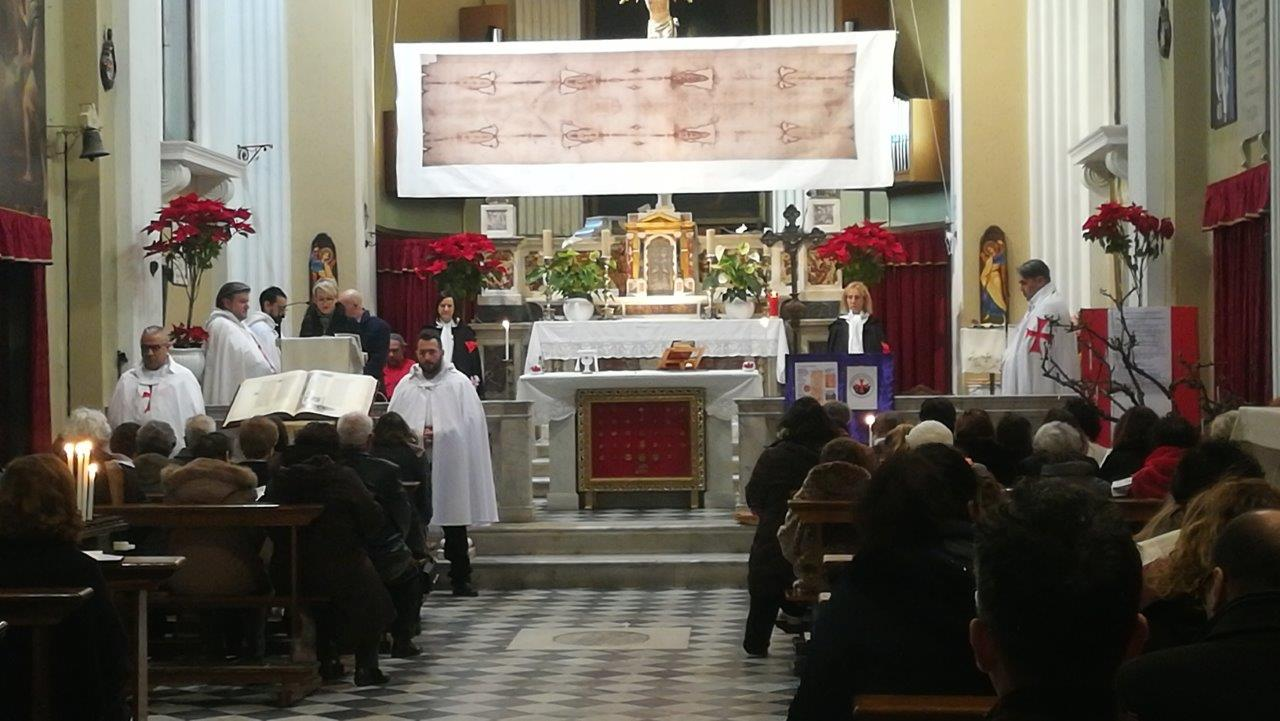 Ostensione e custodia della Sacra Sindone – Chiesa di San Martino – Borgo di Ponte – Massa  (MS)