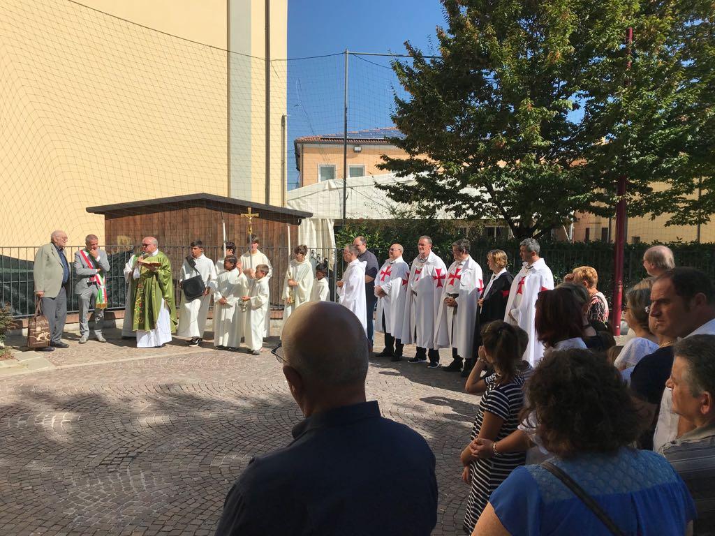 I Templari Cattolici d'Italia partecipano alla celebrazione del Patrono Sant'Antonio Martire presso Cadoneghe, Padova