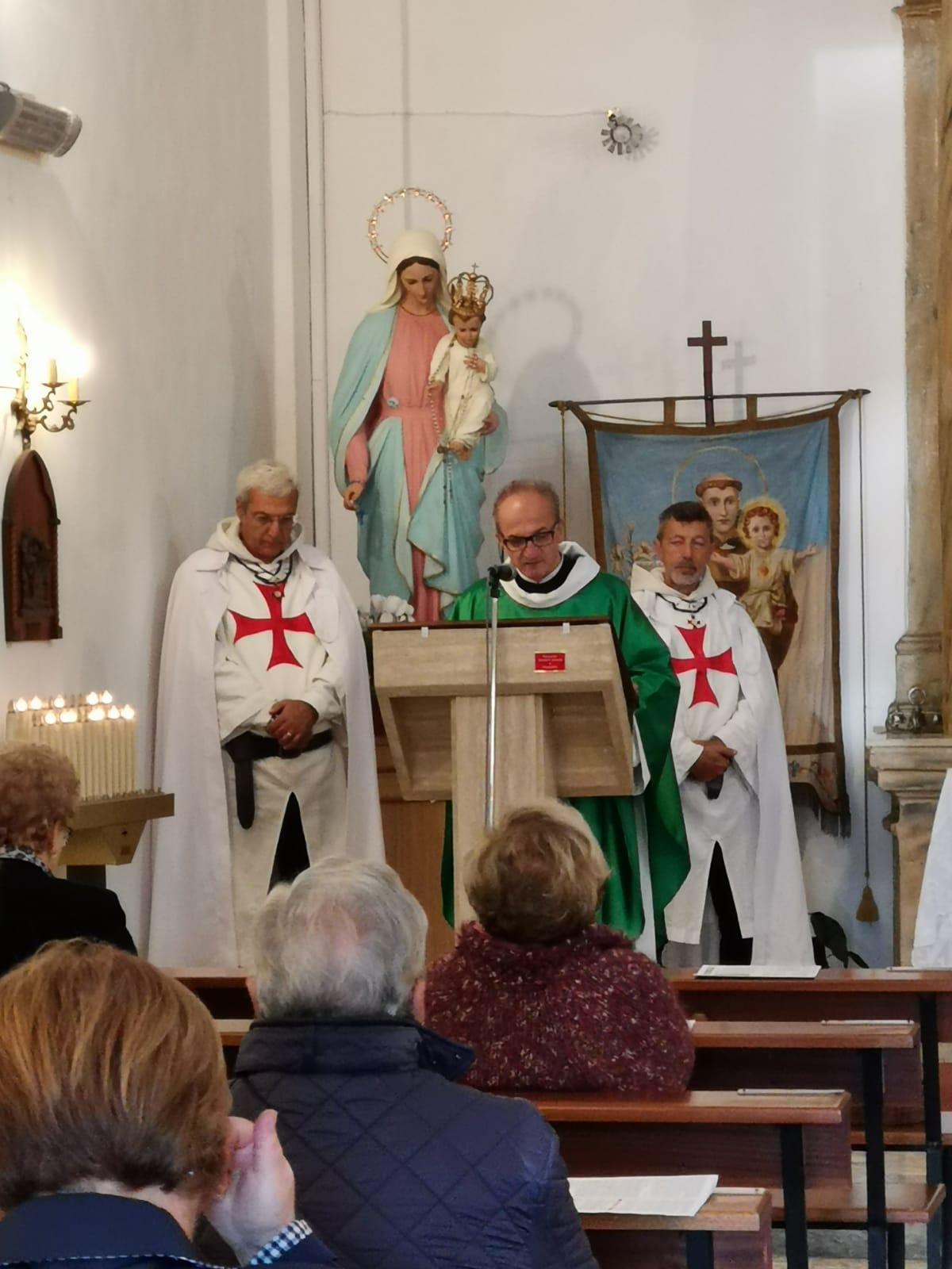 Partecipazione alla S.Messa Chiesa Madonna del Fossato Sermoneta Scalo