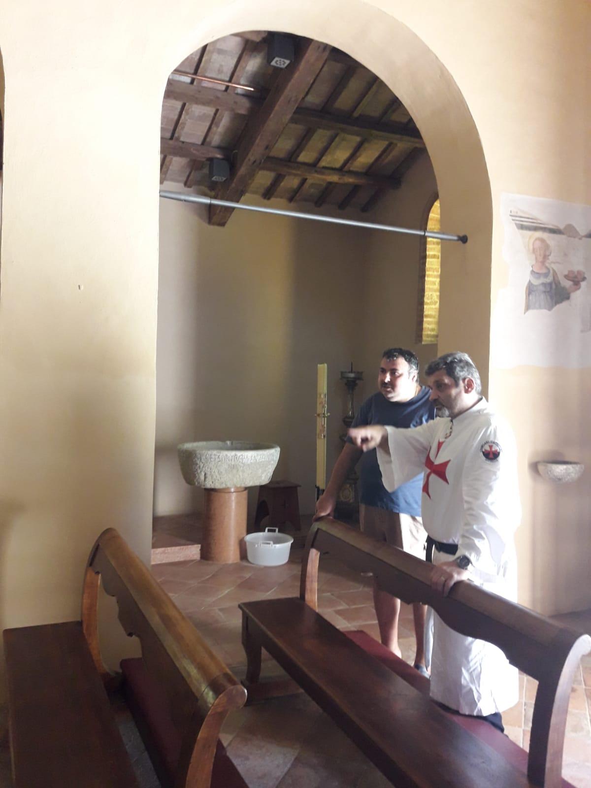 Custodia della Pieve di Santa Maria in acquedotto Forlì – 18.08.2019
