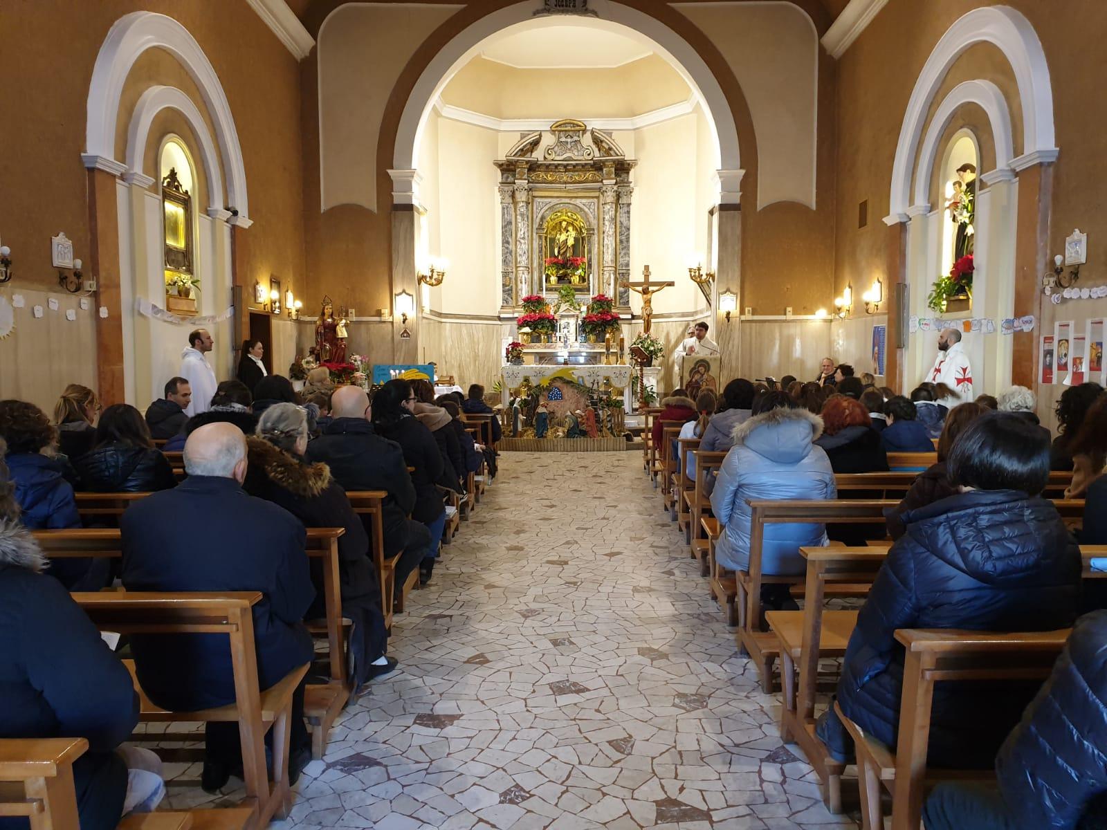 Santa Messa – Chiesa di San Giuseppe in Bosco Eliceo – Comacchio (FE) 12.01.2020