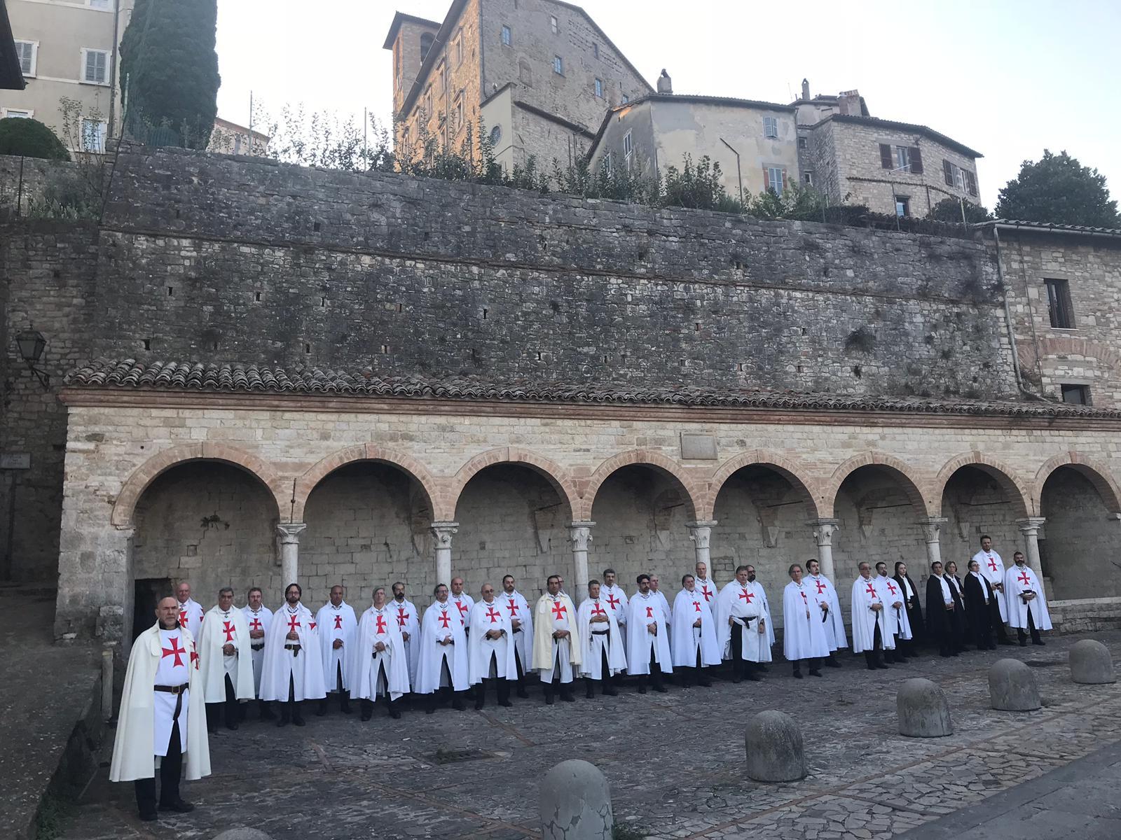 Santa Messa presso la chiesa Templare dei santi Ilario e Carlo