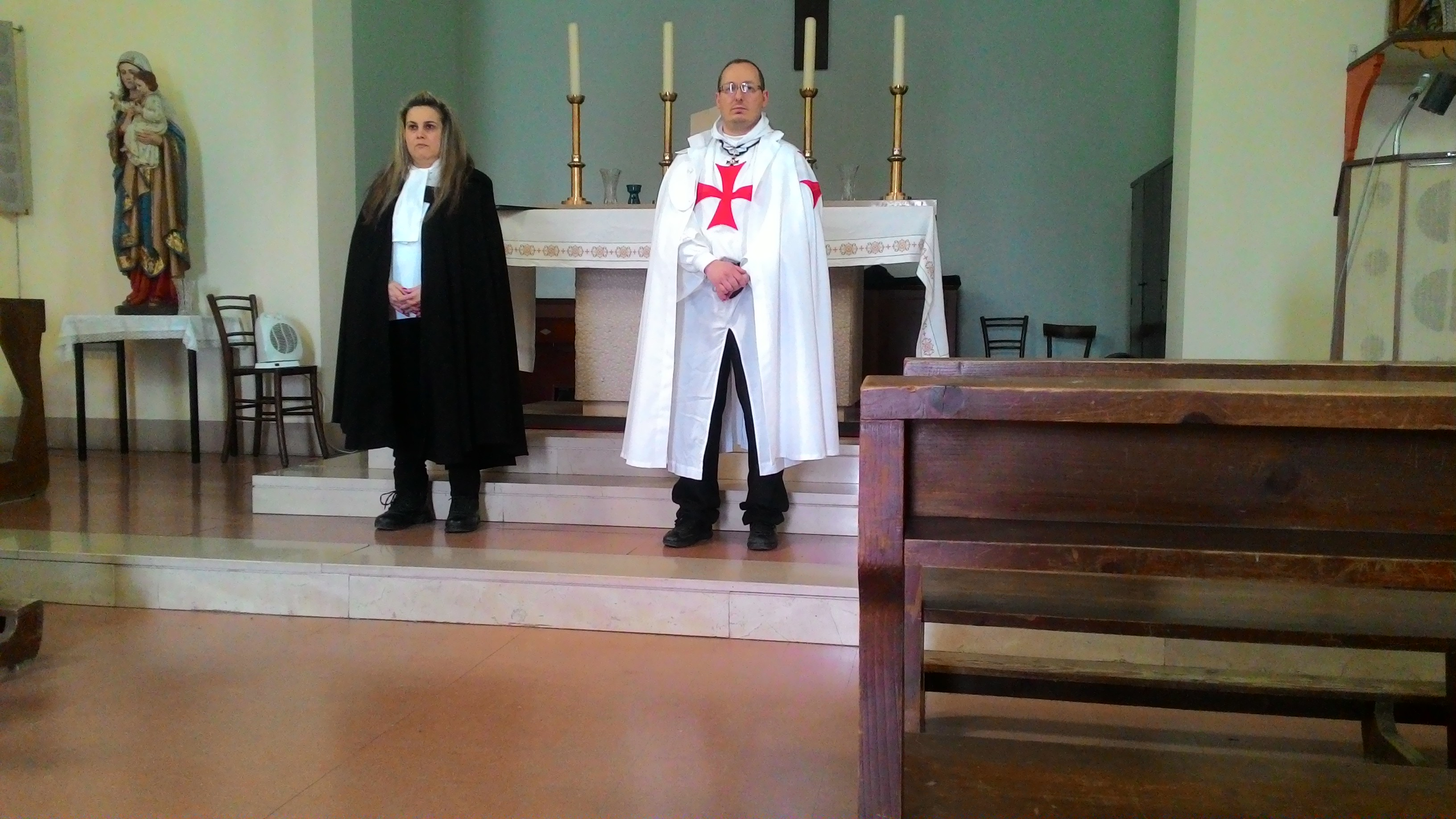 Custodia della Chiesa di San Giuseppe Lavoratore ad Ontraino (PI) 28 apr. 2019