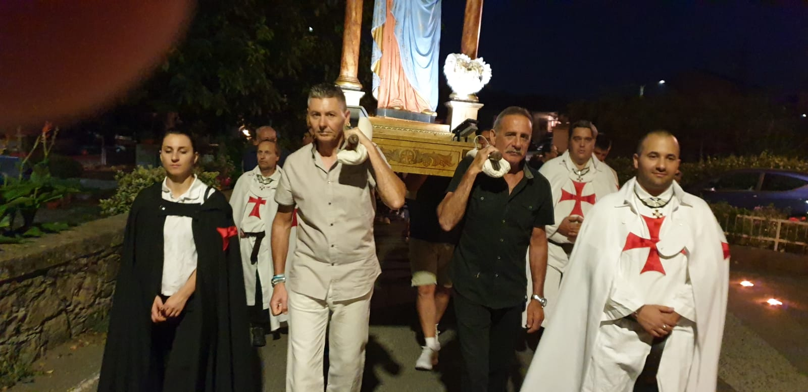 Vespri e processione in onore della Madonna della salute ad Albiano Magra