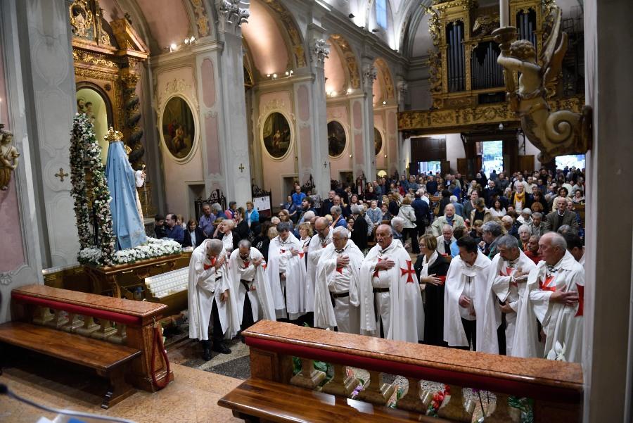 Messa e Processione all'Abbazia di Fontanellato