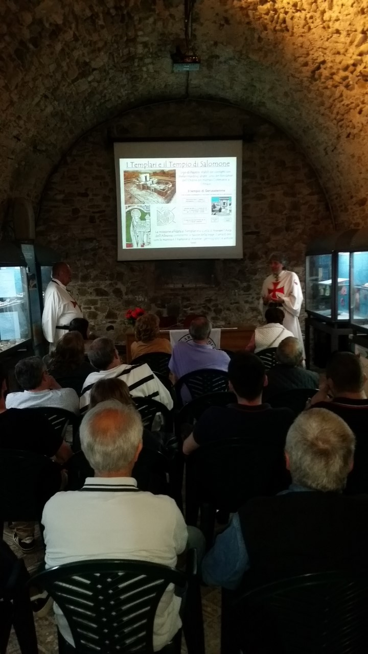 Conferenza Storica sui Templari a Pianello Val Tidone