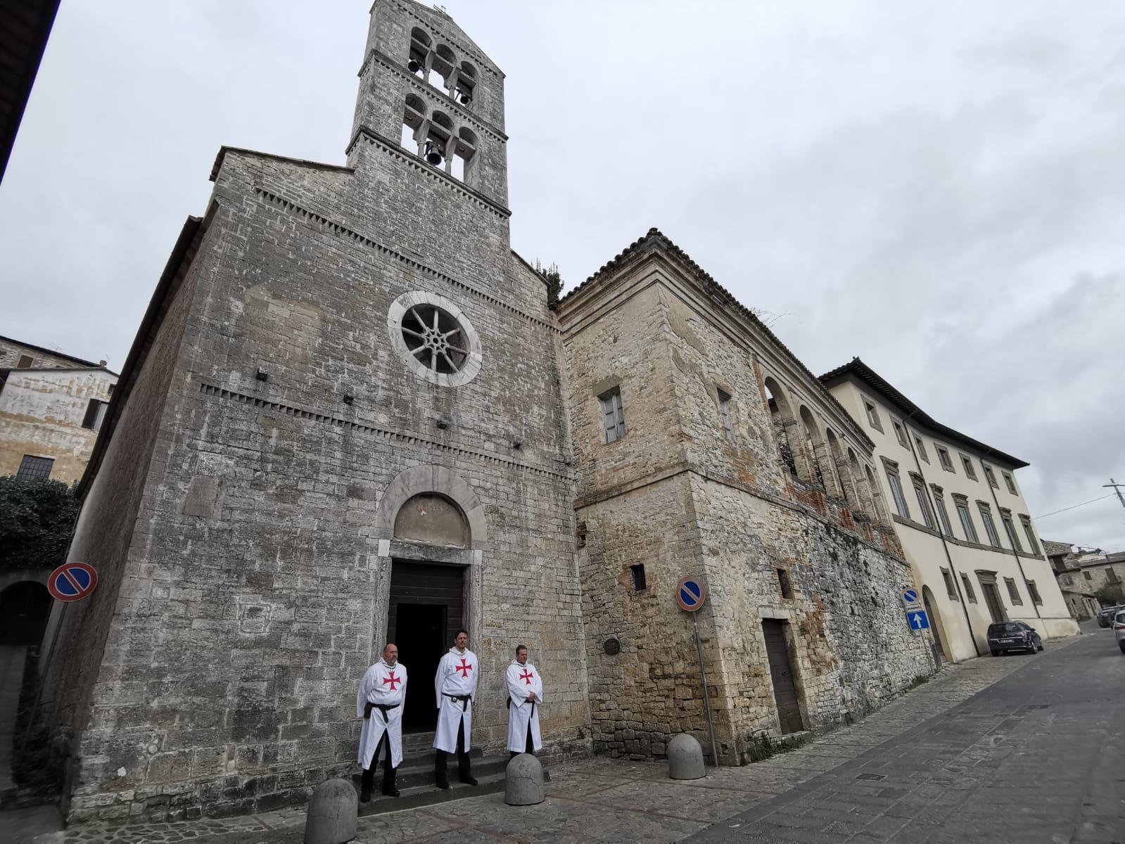 Apertura e Santa Messa nella Chiesa di Sant'Ilario e Carlo – Todi (PG) – 17 marzo 2019