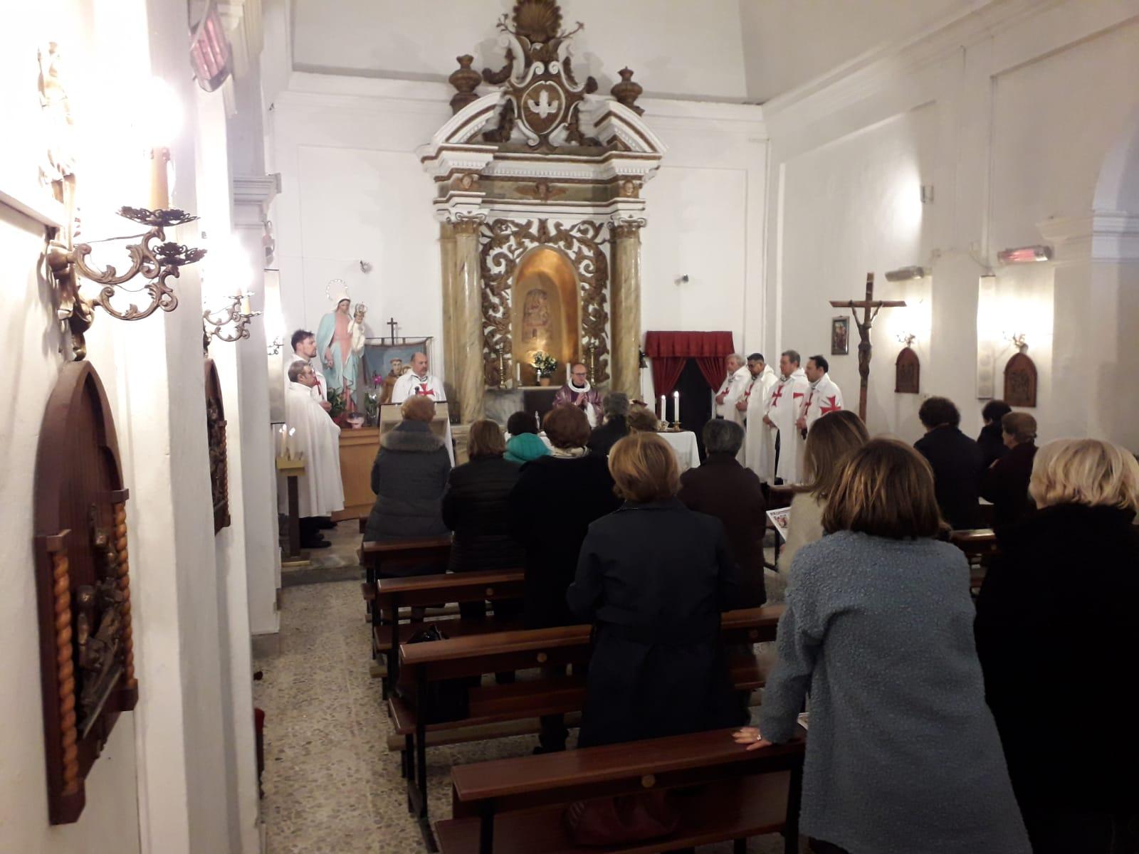 Custodia e messa abbazia di Valvisciolo