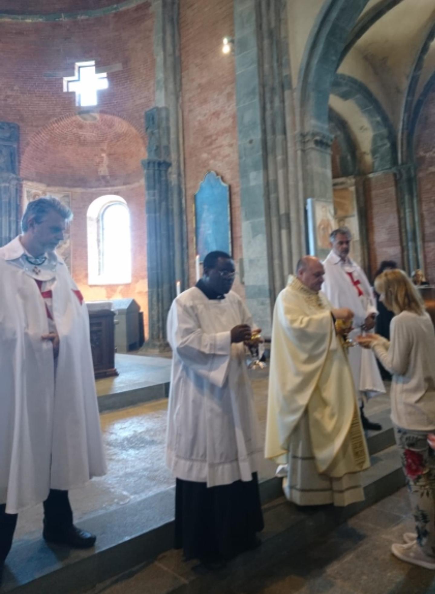 Santa Messa Domenicale alla Sacra di S.Michele (To)