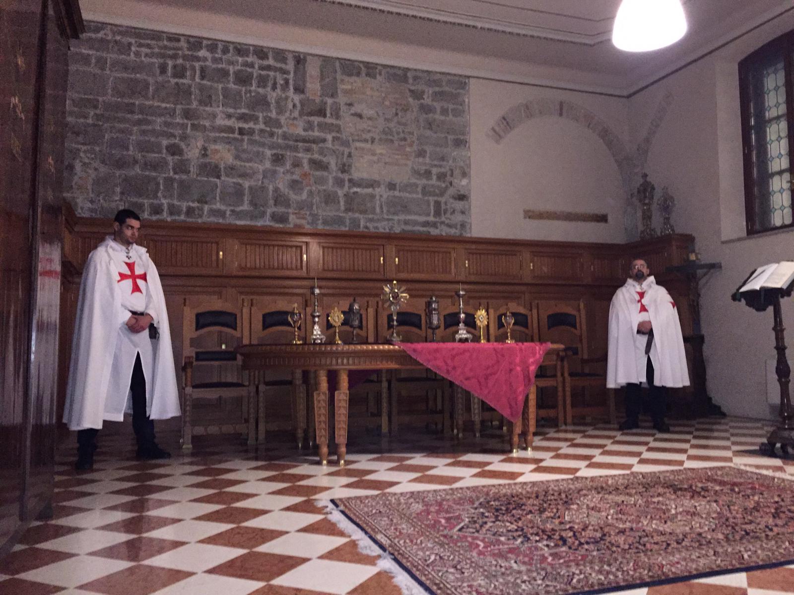 I Templari Cattolici d'Italia prestano servizio di custodia alle reliquie custodite nella Cattedrale dei Santi Ilario e Taziano a Gorizia.