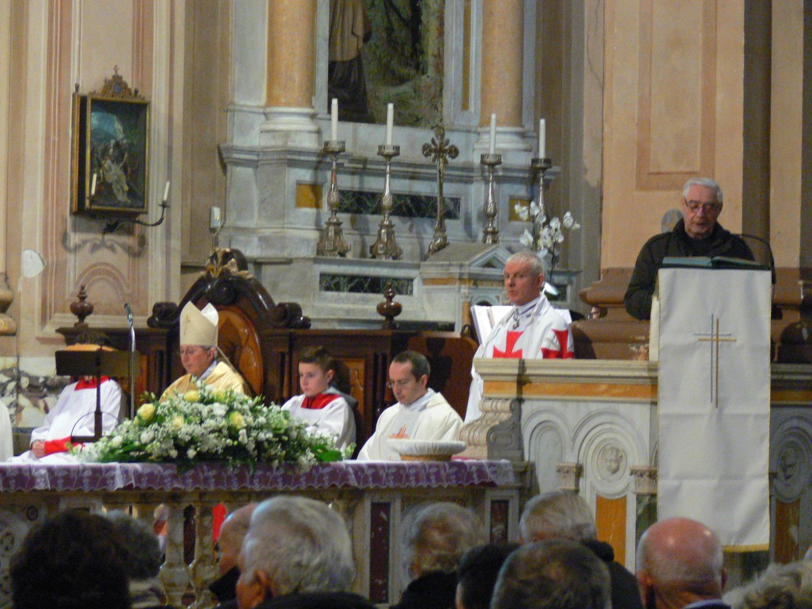 S. Messa Soragna (PR) 13/01/19 officiata da Mons. Ovidio Vezzoli Vescovo di Fidenza