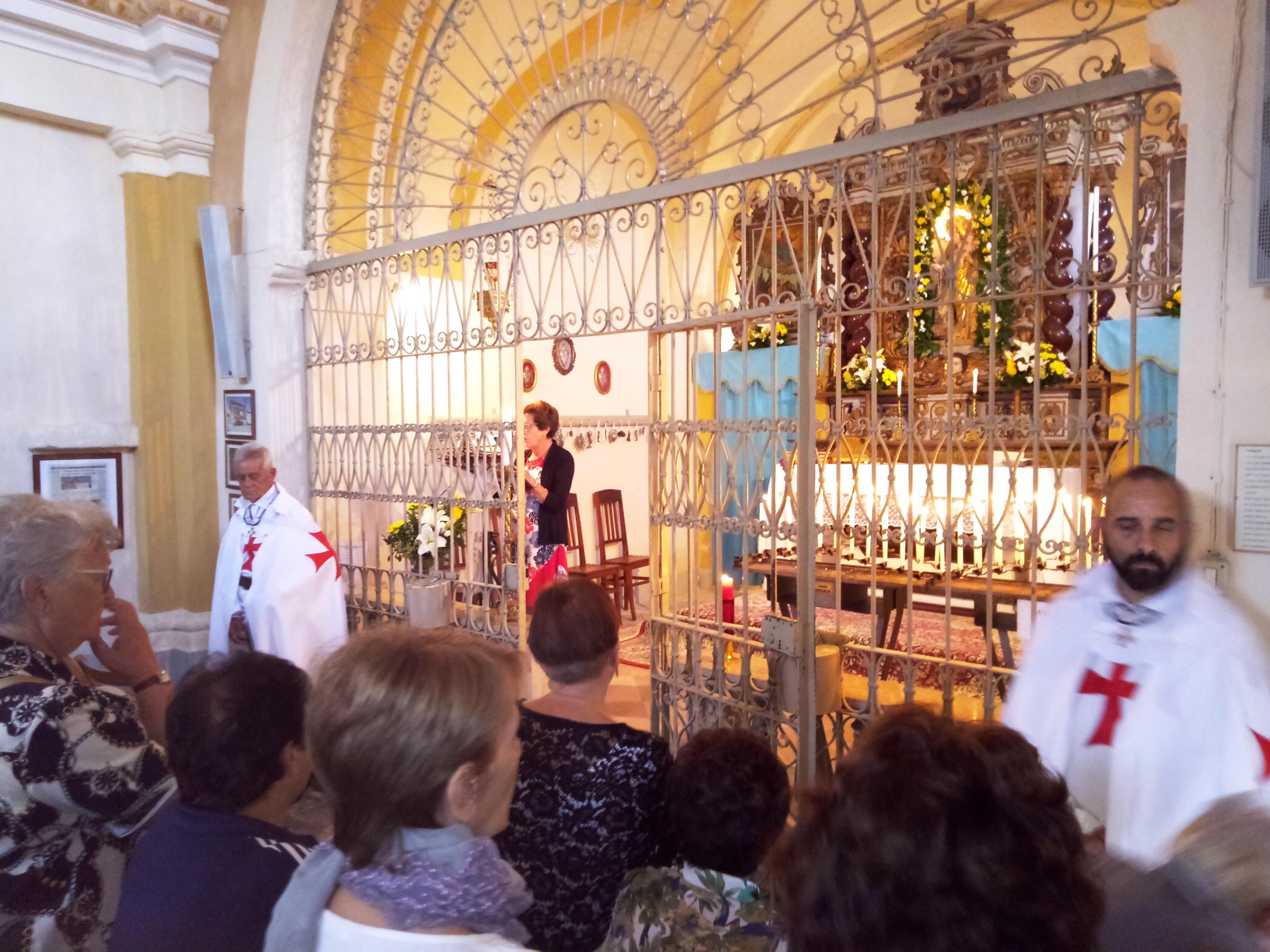 Festeggiamenti dell'Assunta nella Chiesa Templare di S. Maria di Isana a Livorno Ferraris