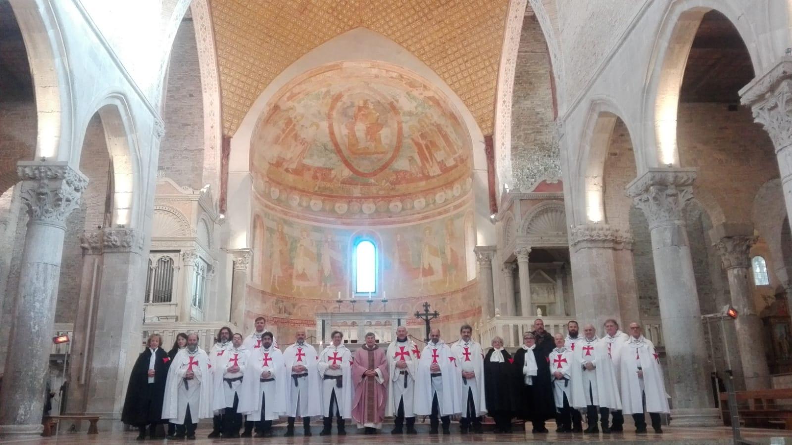 """I Templari Cattolici d'Italia parecipano alla manifestazione """"In Hoc Signo"""" ad Aquileia."""