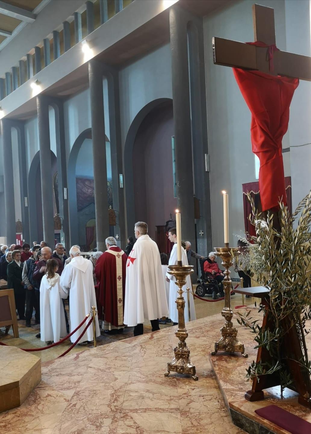 Processione delle Palme San Pietro in Vincoli a Condove (To)