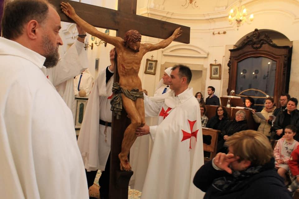Partecipazione ai riti della Settimana Santa in Trani