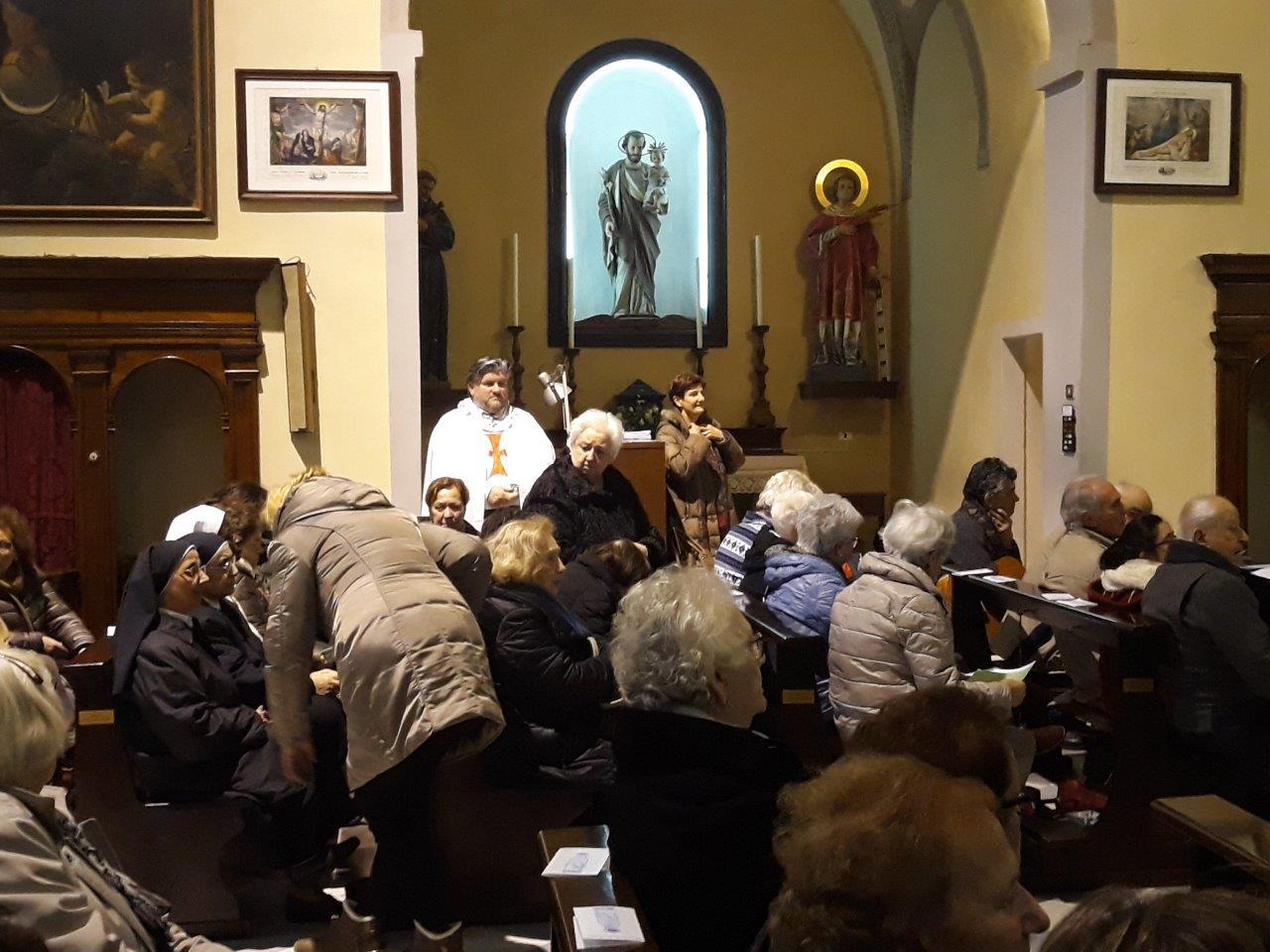 Custodita e partecipazione alle Sante Messe in San Lorenzo dei Cappuccini a Pontremoli – 11.02.2020