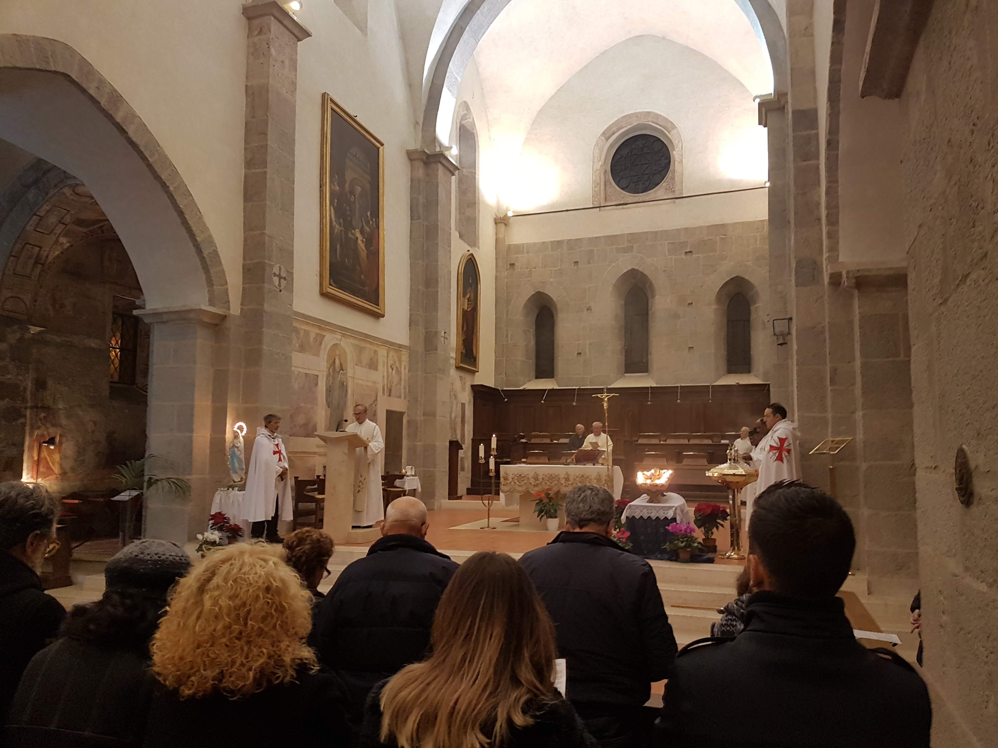 Veglia di Natale Abbazia Cistercense di Valvisciolo – Sermoneta (LT)