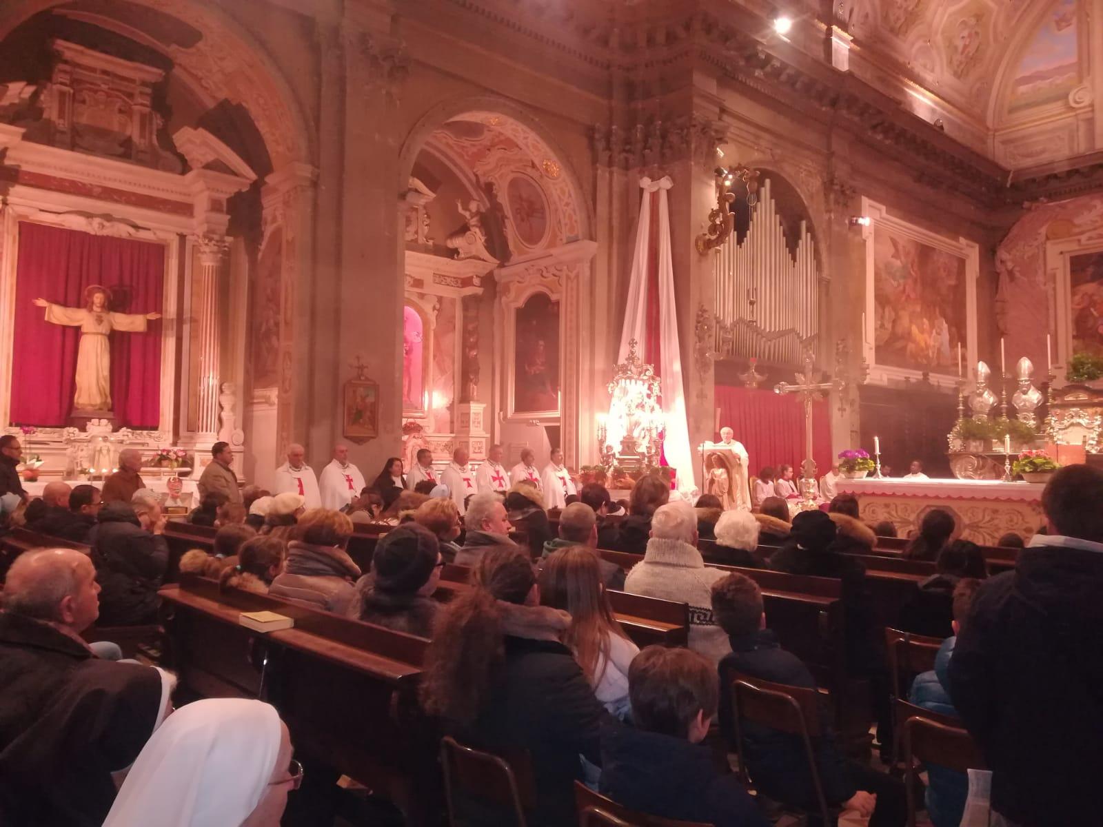 Santa Messa patronale a San Paolo a Piacenza con S.E. Mons. Gianni Ambrosio Vescovo di Piacenza-Bobbio