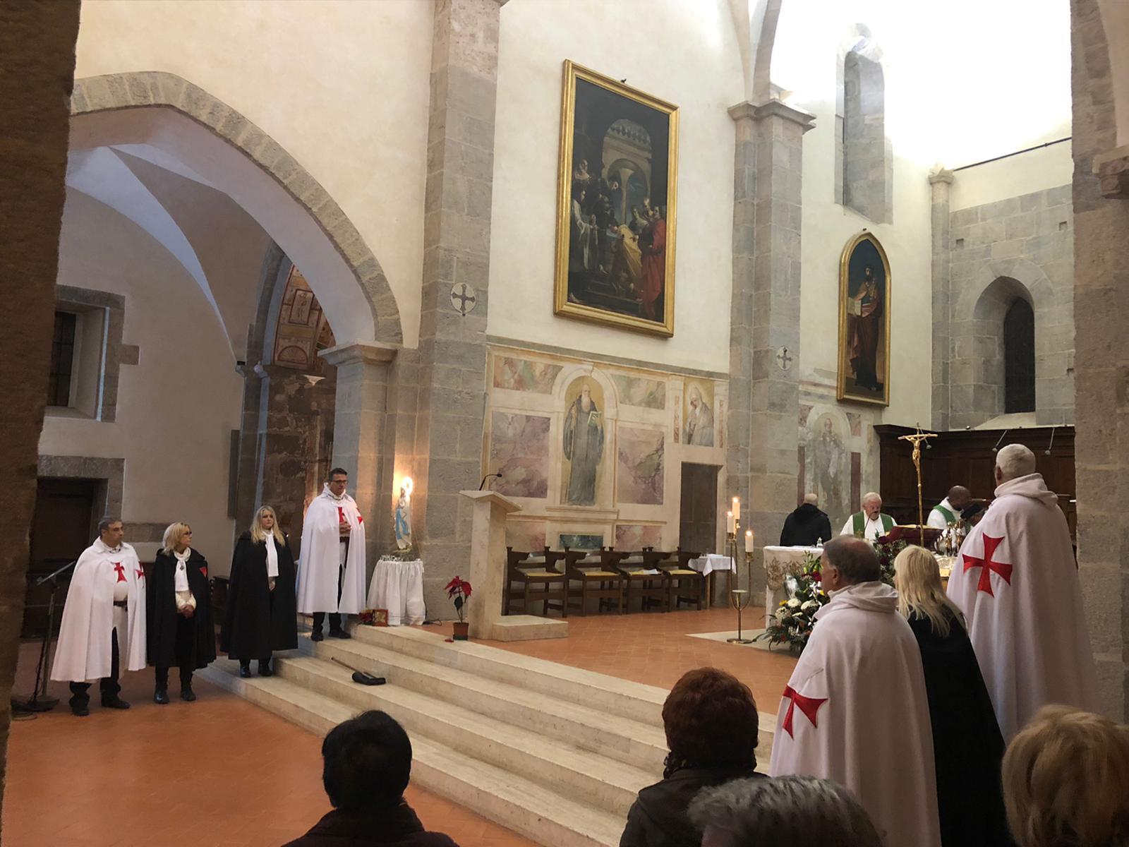 Partecipazione alle S. Messe di Valvisciolo e Sermoneta