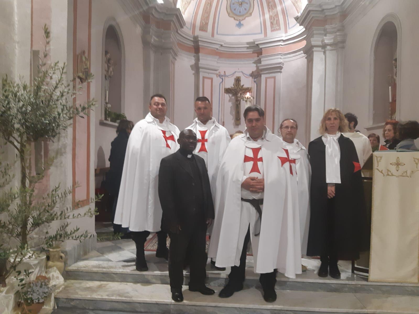 Custodia e Veglia Pasquale nella chiesa di San Giovanni Battista a Terrarossa (MS)