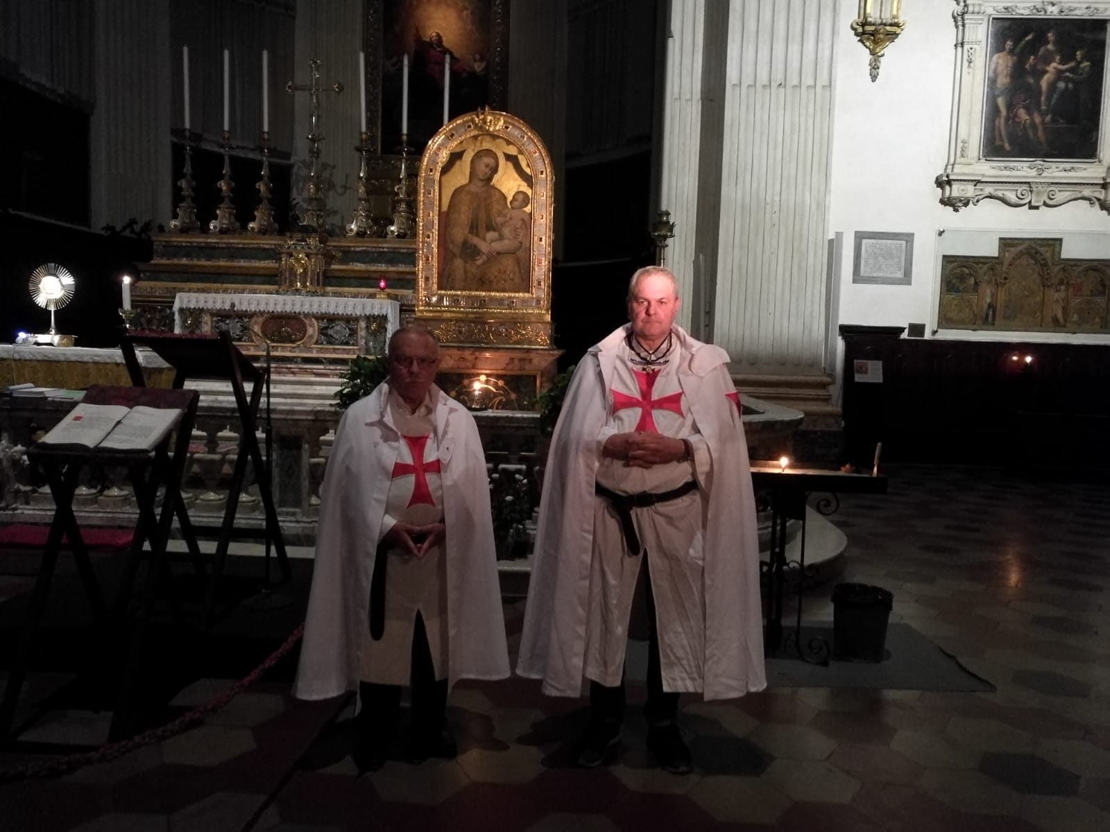 Custodia della Basilica del Santissimo Salvatore a Bologna – 27 July 2018