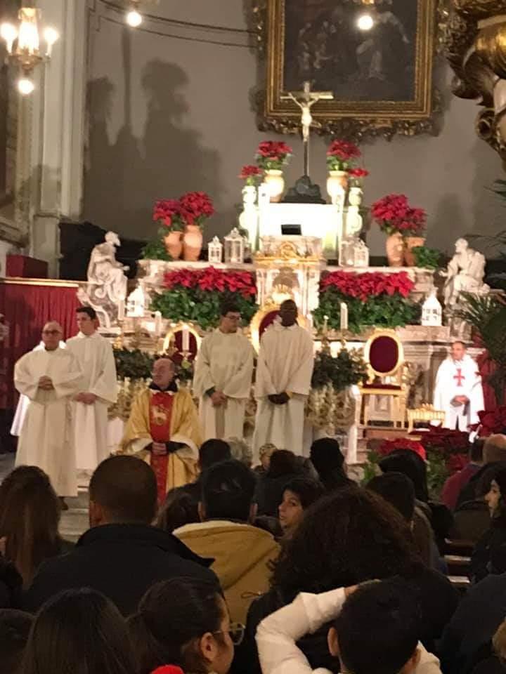 Partecipazione alla Santa Messa dell'Epifania presso la Basilica Santuario Parrocchia Maria SS. Annunziata al Carmine 2019