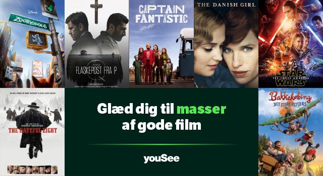 Glæd dig til masser af gode film