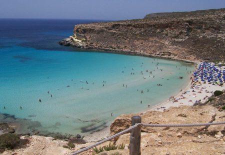 Sicile - Lampeduse - Plage des lapins