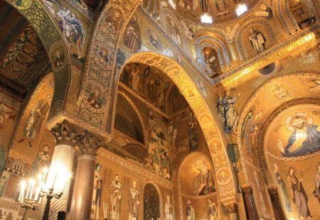 Sizilien Palermo Cappella Palatina