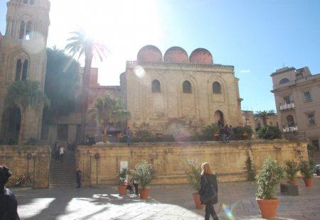 Palerme - Eglise de San Cataldo en Décembre