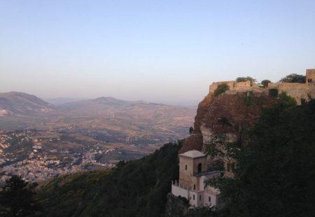 La Sicile à vélo - Erice