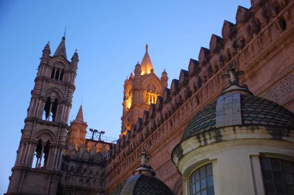 Palermo entdecken- Die Dächer der Kathedrale
