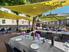 le restaurant en terrasse
