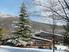 Pavillon central en hiver