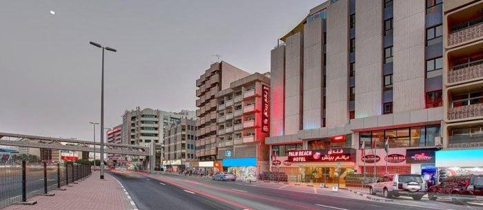 Palm Beach Bur Dubai Hotel