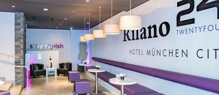 Hotel Rilano 24/7 München City
