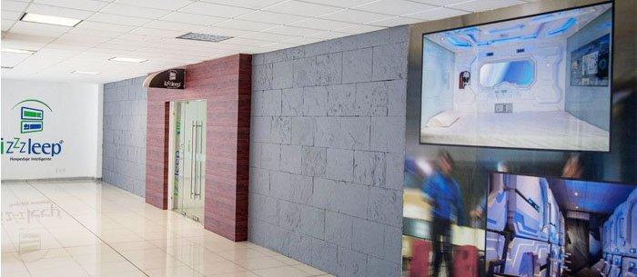 Hotel izzzleep Aeropuerto Terminal I
