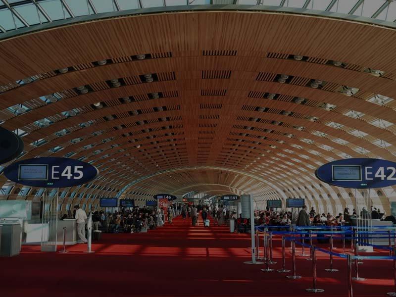 Paris Flughafen CDG