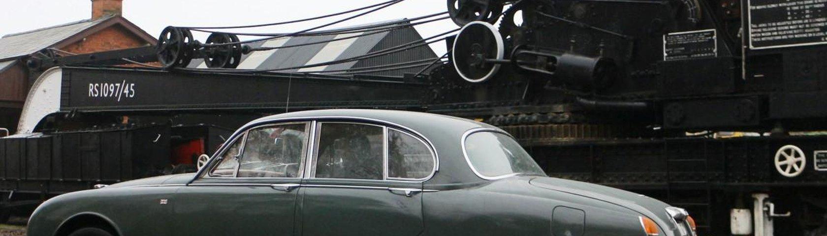 Jaguar Restoration From The Splined Hub Classis S Type 2