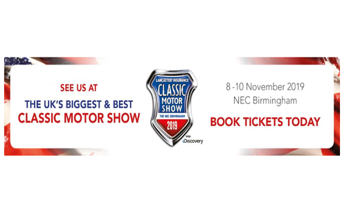 Lancaster Insurance Classic Motor Show 2019, NEC Birmingham, with Discovery