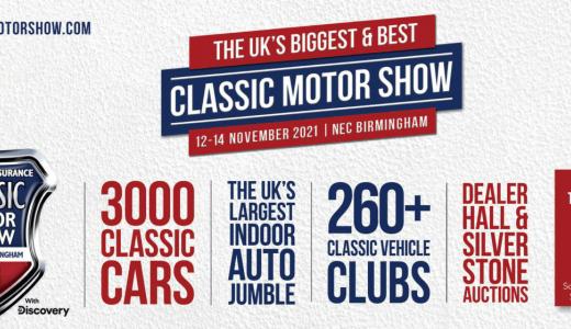 NEC Classic Motor Show 2021