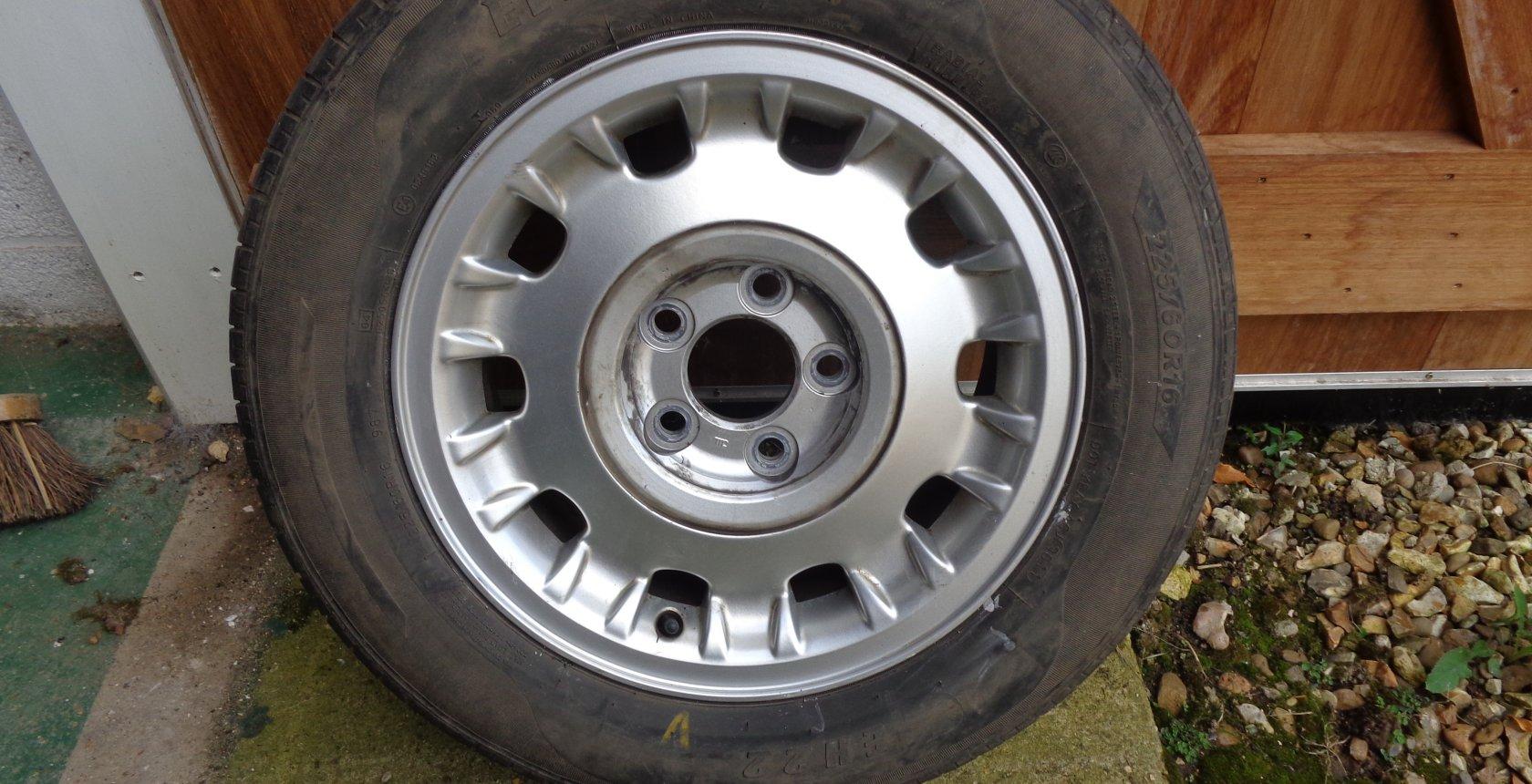 Daimler Wheel