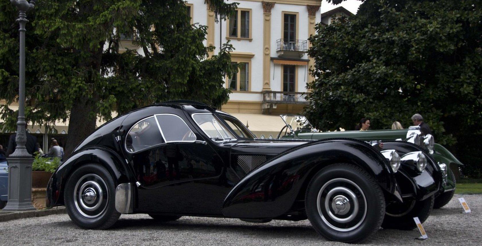 9710 Bugatti Atlantic 57 Sc Vintage Car