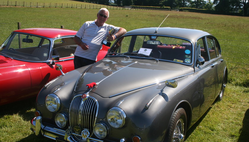 Ladies Choice Colin Ross With Car