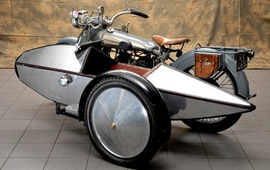 Early Days Swallow Sidecar