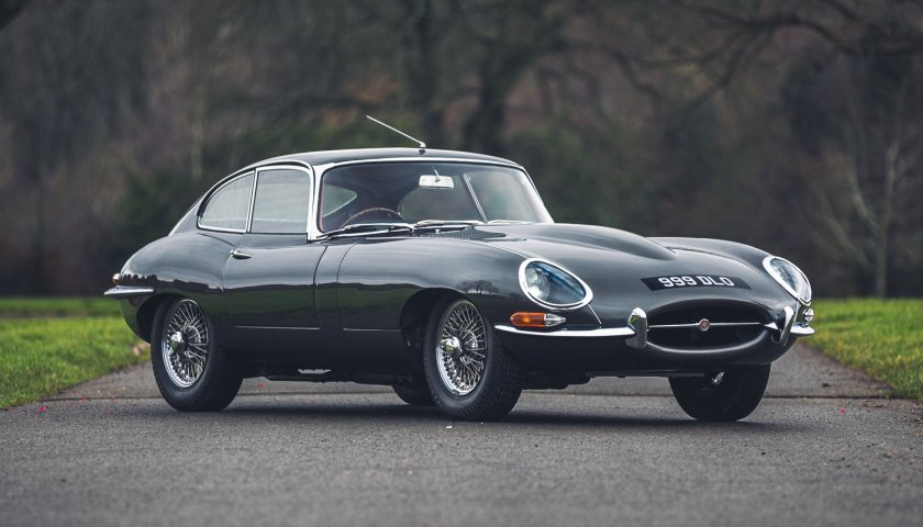 1961 Jaguar E Type Series 1 Fhc Flat Floor – Chassis60