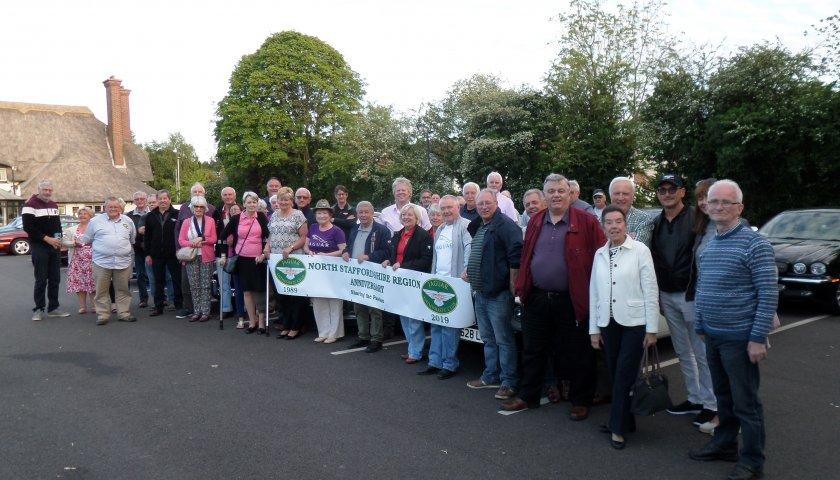 30 Staffordshire North Region 30Th Anniversary Group