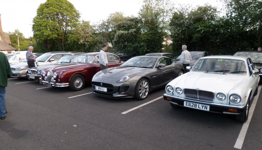 31 Staffordshire North Region 30Th Anniversary Variety Of Cars